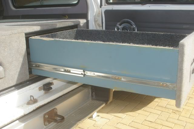 Drawer Slide Medium Duty 1000mm 125kg Sold As A Pair